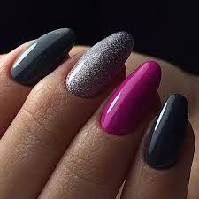 Nail Art Design Ideas to Give You Amazing Fall This Year - Nagellack - DaGolfGal# Nails WEBSTA @ babenkova_nails_chelyabinsk - Shellac Nails, Pink Nails, Glitter Nails, Polish Nails, Acrylic Nails, Fabulous Nails, Gorgeous Nails, Pretty Nail Designs, Nail Art Designs
