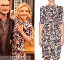 Kelly & Michael: January 2015 Kelly's Floral Print Dress