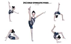 Children Gymnastic Poses at Flower Chamber via Sims 4 Updates