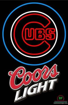 076fed37c2beb Coors Light Chicago Cubs Neon Sign MLB Teams Neon Light