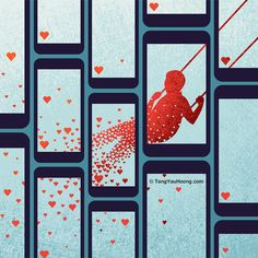 Tang Yau Hoong, Meaning Of Life, Editorial, Social Media, Graphic Design, Quilts, Love, Digital, Buzzfeed