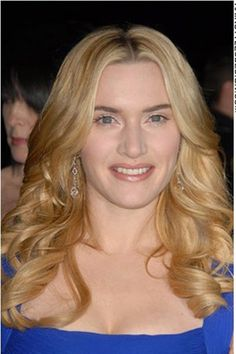 I love how Kate winslet does her makeup free