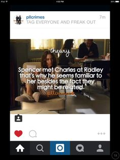 Pretty Little Liars spoilers i feel they have all met Charles but they didn't know he was A Pretty Little Liars Theories, Pretty Little Liars Spoilers, Preety Little Liars, Pll Memes, Tv Quotes, Best Tv Shows, Dance Moms, Big Bang Theory, Mind Blown