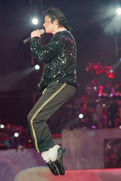 Performing in Asia in 1996.