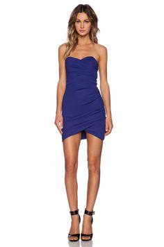 TFNC London Thai Mini Dress in Blue | REVOLVE