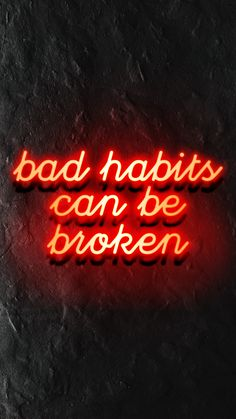 Read how you can be empowered and in control of your bad habits.
