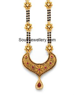 Gold For Jewelry Making Gold Mangalsutra Designs, Diamond Mangalsutra, Gold Jewelry Simple, Stylish Jewelry, Beaded Jewelry, Gold Jewellery, Jewelry Patterns, Diamond Wedding Bands, Indian Jewelry