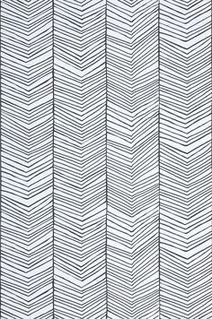 Herringbone Novelty wallpaper Wallpaper patterns Wallpaper from the Graphic Patterns, Cool Patterns, Textures Patterns, Print Patterns, White Patterns, Black White Pattern, Boho Pattern, Pattern Art, Pattern Design