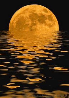 ~~Moonrise on water by Vandana Photgraphy~~