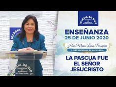 Enseñanza: La Pascua fue el Señor Jesucristo - 25 de Junio - Hna. María Luisa Piraquive - IDMJI - YouTube