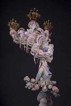 Madame-de-Pompadour-OOAK-Porcelain-Enchanted-Doll-by-Marina-Bychkova