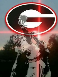 University of Georgia Bulldogs football. Nothing finer on Saturday that UGA Football! Ga Bulldogs Football, College Football Teams, College Sport, Football Pics, Fb Banner, Bulldog Mascot, Sick, Georgia Girls, Football Wallpaper