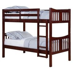 Dylan Bunk Kids Bed - Espresso (Twin)