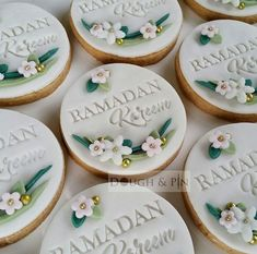 Eid decoration, eid mubarak, eid party city, why is eid celebrated, eid today Eid Cookies Recipe, Fondant Cookies, Royal Icing Cookies, Cupcake Cookies, Sugar Cookies, Cookie Favors, Eid Cupcakes, Eid Cake, Ramadan Crafts
