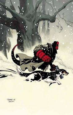Hellboy: Winter Special by Tim Sale *