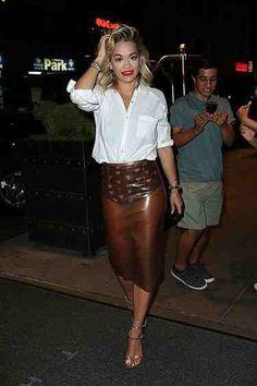Rita Ora. Sheer-spiration