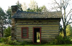 The Hickam Cabin is preserved at the Rock Bridge Memorial State Park, just south of Columbia Missouri.