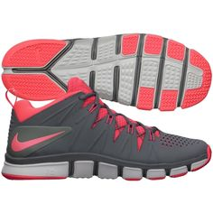 Nike Mens Free Trainer 7.0 Training Shoes Coal Grey Hot Pink 599086 006 Free  Training 1cfc7784c0a