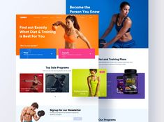 Some artifacts of conceptual design work made for a fitness, nutrition, and supplement brand that most of you might now 😉 🤾🏻♀️We're available for web design projects Training Tops, Training Plan, Make Design, Ux Design, Web Design Projects, Ui Web, Conceptual Design, Landing Page Design, Mobile App Design