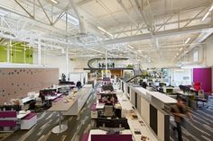 Interior Details Playful and Ambitious One Workplace Project in Santa Clara, California