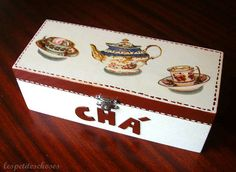 Caixa de chá / Tea box by ♥LesPetitesChoses♥, via Flickr