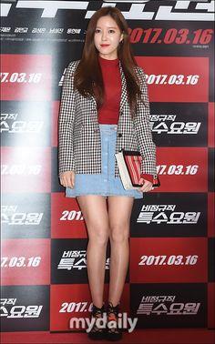 T-ARA ヒョミン 映画「非正規職特殊要員」VIP試写会に出席