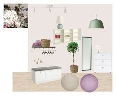 """Hall"" by annajosefinelarsson on Polyvore featuring interior, interiors, interior design, home, home decor, interior decorating, ANJI MOUNTAIN, Muuto, Serena & Lily and Arteriors"