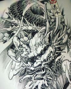 #dragon#drawing#Blackandgreytattoo#asiantattoo#europeantattoo#Asianink#chinesetattoo#japanesetattoo#maart#Slovenia#worldofpencils#sketch#illustration#irezumi#tattoolife#tattooartist