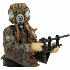 Star Wars: Episode V: Empire Strikes Back Zuckuss Mini-Bust by Gentle Giant Studios. Save 52 Off!. $24.00. A bounty hunter of few words. Designed in 1/6 scale. stands 7.5 inches tall. Zuckuss is a short, stocky being with a grubby robe, and a number of breather tanks affixed to his h. one of the deadly trackers that answered Lord Darth Vader?s call to find the Millennium Falcon. The mysterious alien bounty hunter Zuckuss was one of the bounty hunters Darth Vader summoned to his Star Des...