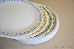 Corelle plates...