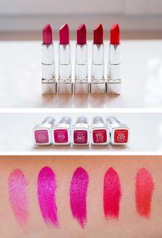 Crash test des nouveaux rouges à lèvres Hydra Renew de Rimmel London  #beauty #makeup #hydrarenew #rimmellondon #lipstick #colour #red #swatch #crashtest #rouge