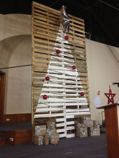 Christmas Pallet from Goulburn Baptist Church in Goulburn, NSW, Australia…