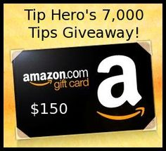 Who wants to win a $150 Amazon gift card???  Stop by to easily enter!
