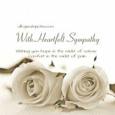 Condolences Quotes Stunning Free Sympathy Condolences Cards For Facebook  Sympathy Quotes