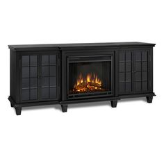 Best Free of Charge Electric Fireplace bathroom Popular Real Flame Marlowe TV Stand Ventless Electric Fireplace Black Fireplace Remodel, Wood Shades, Room Design, Home Fireplace, Family Room Design, Wooden Fireplace, Media Cabinet, Fireplace, Diy Fireplace