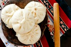 Steamed Char Siu Bao (Barbecue Pork Buns)