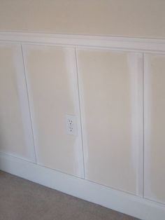 Remodelaholic | Affordable Decorative Wall Panel  Must do this for the dining room