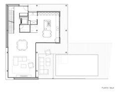 R House by Artigas Arquitectes, Floor Plan-G