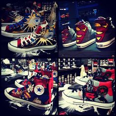 Superhero Converse