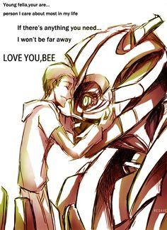 Love you, Bee - Transformers -