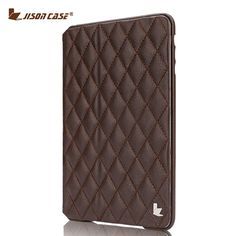 Jisoncase Fashion Flip Smart Case For iPad mini 2 3 Magnetic Tablet Cover Luxury Artificial Leather Case for iPad mini 1 2 3 7.9