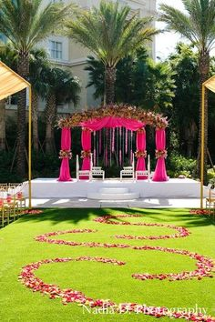 Beautiful ceremony site #rosepetals, wedding petals available @ Flyboy Naturals www.flyboynaturals.com
