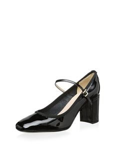 Modern Fiction Women's Mary Jane Ballerina Pump (Black)