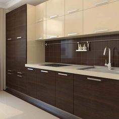 21 Modern Kitchen Area Ideas Every Home Cook Demands to See Kitchen Cupboard Designs, Kitchen Room Design, Modern Kitchen Design, Home Decor Kitchen, Interior Design Kitchen, Kitchen Cabinet Layout, Kitchen Living, Living Room, Modern Kitchen Interiors