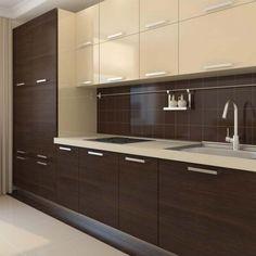 21 Modern Kitchen Area Ideas Every Home Cook Demands to See Kitchen Cupboard Designs, Kitchen Room Design, Modern Kitchen Design, Home Decor Kitchen, Kitchen Layout, Interior Design Kitchen, Kitchen Living, Living Room, Modern Kitchen Interiors