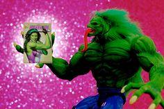 Big Fan. Hulk 2099 loves She-Hulk.