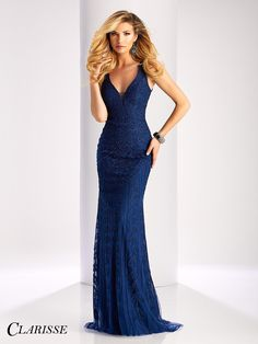 Clarisse Soutache Ribbon Prom Dress 3090. Feel classy and elegant in this gorgeous sleeveless soutache dress with crystal embellishments and a stunning double keyhole open back. Find your Clarisse retailer today! Click through to learn more! COLOR: Champagne , Navy SIZE: 00-16