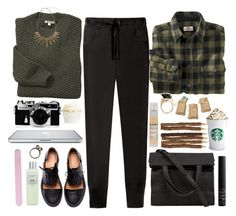 """""""W E L C O M E W I N T E R ♥"""" by style-machine ❤ liked on Polyvore featuring Barbour, Woolrich, NARS Cosmetics, Alexander Wang, Nikon, Étoile Isabel Marant, Minimarket, Le Labo, Laura Mercier and Forever 21"""