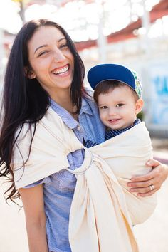 Tula Ring Slings are made from Tula's beautiful woven wraps allowing your to comfortably carry your child from birth and beyond with one carrier.