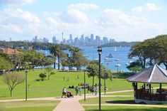 Robertson Park at Watsons Bay - Sydney, NSW